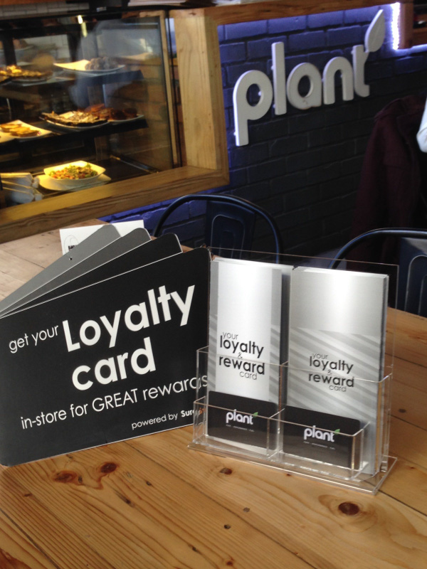 Plant Restaurant Loyalty Card