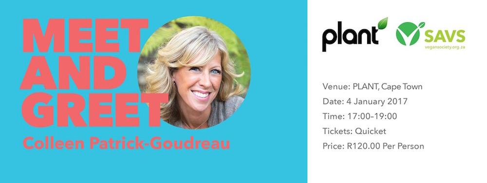Colleen Patrick-Goudreau Plant Cape Town